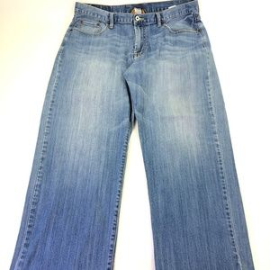 Lucky Brand Women Wide Leg Denim Pants Sz 38 N083
